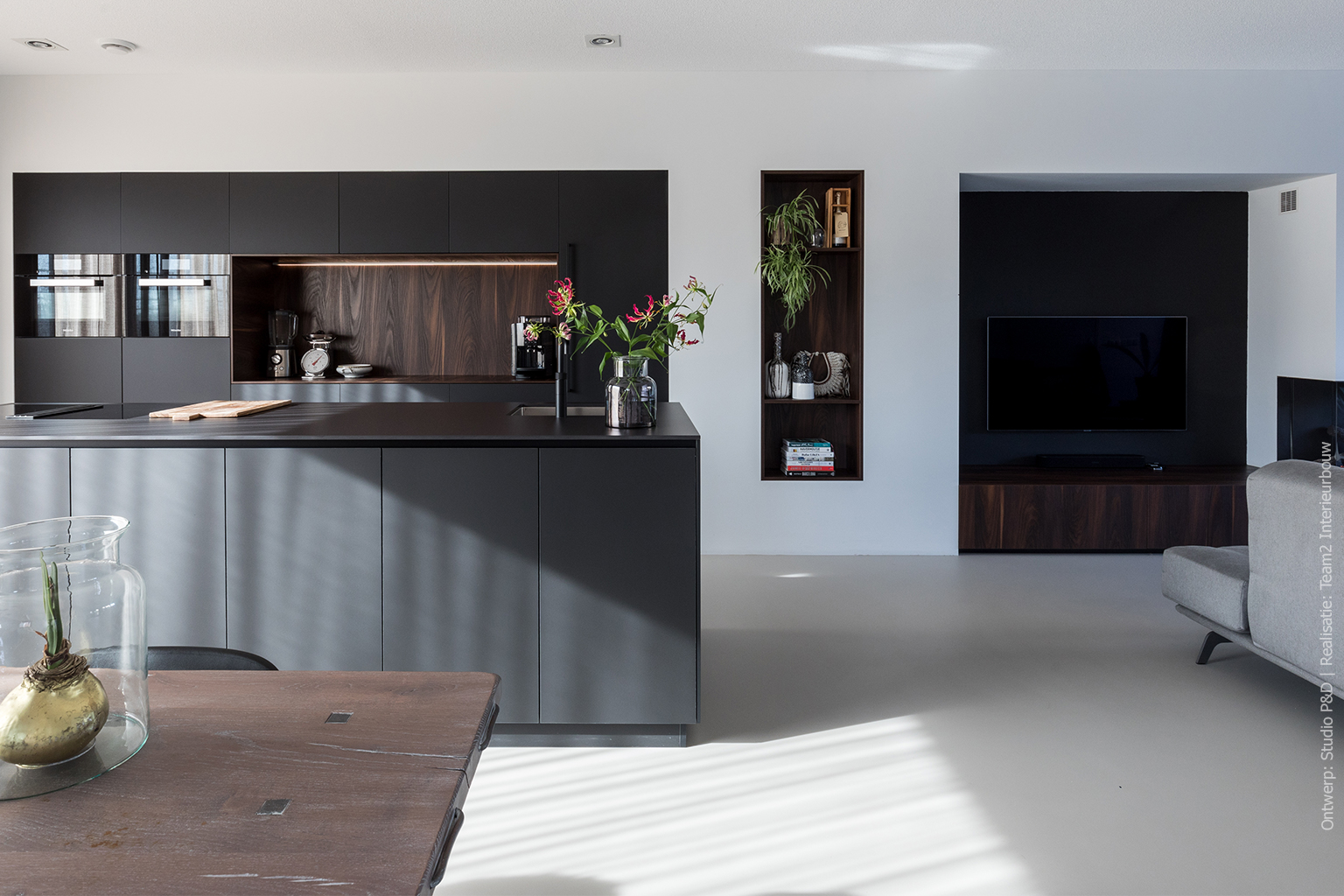 Keuken in HM07 Piombo
