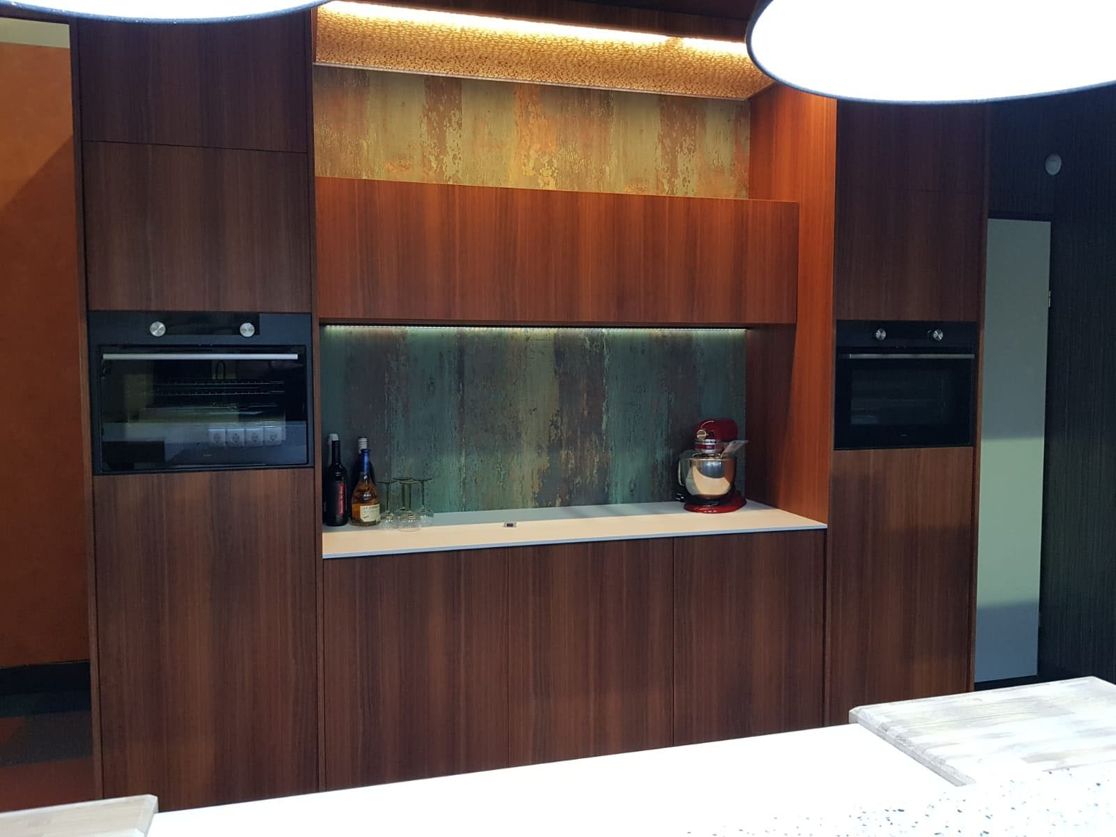 DecoLegno-HPL Specials-forest green - keuken 2