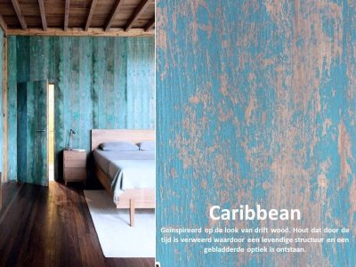 DecoLegno by Cleaf - HPL Caribbean Wood - Tekenprogramma hele plaat 2440x1220mm