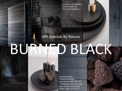 DecoLegno - HPL Specials - By Nature/Burned Black 2440x1220mm