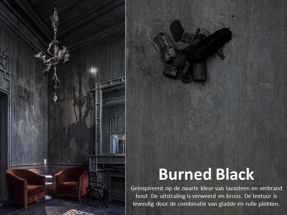 Moodboard HPL Specials - Burned Black
