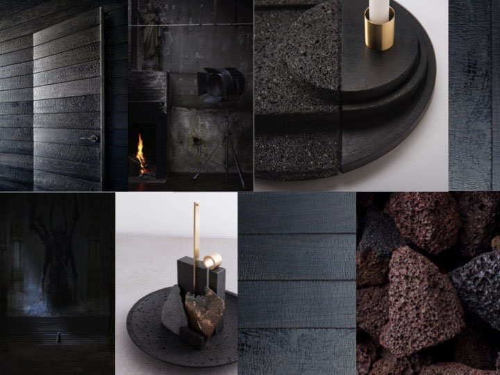 HPL Specials Burned Black moodboard