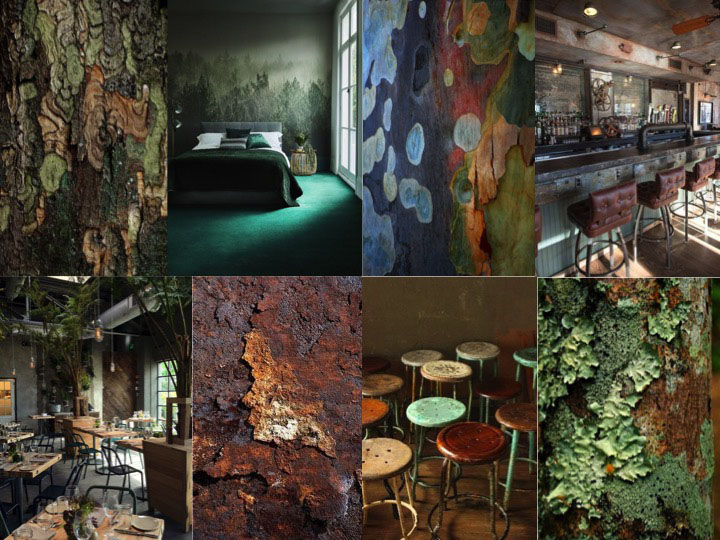 HPL Specials Forest Green moodboard