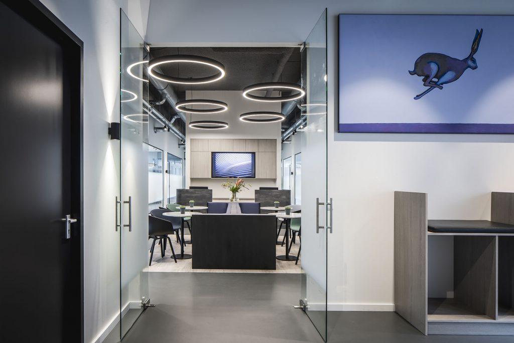 Sjoerd Koorevaar kantoorruimte plaatmateriaal
