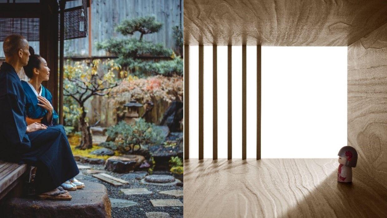 Inspiratiebeelden Japan onsen hout