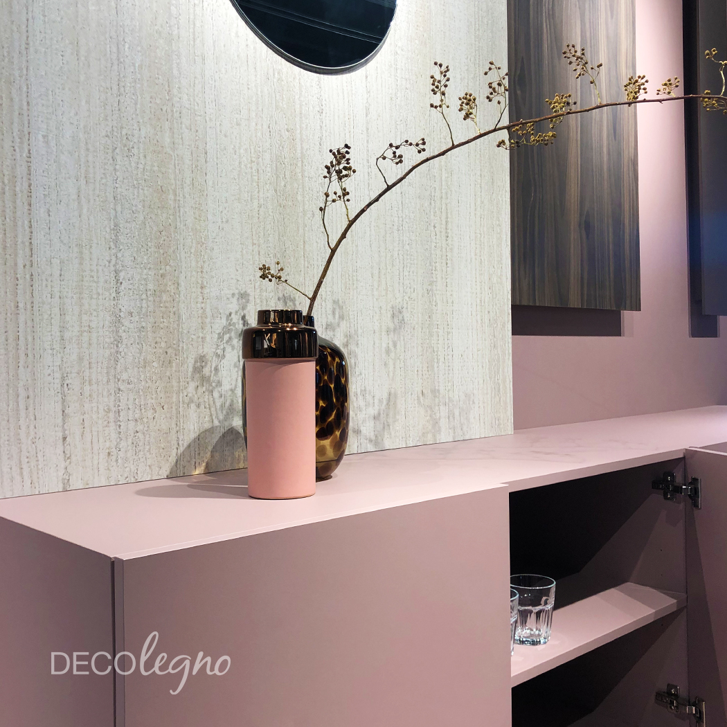 DecoLegno stand Material District detail