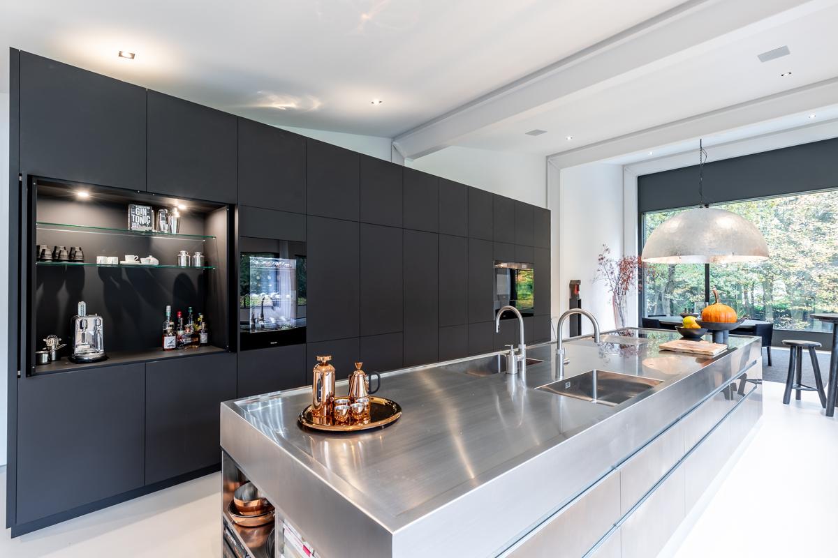HM07 Piombo decoratief plaatmateriaal toepassing keuken